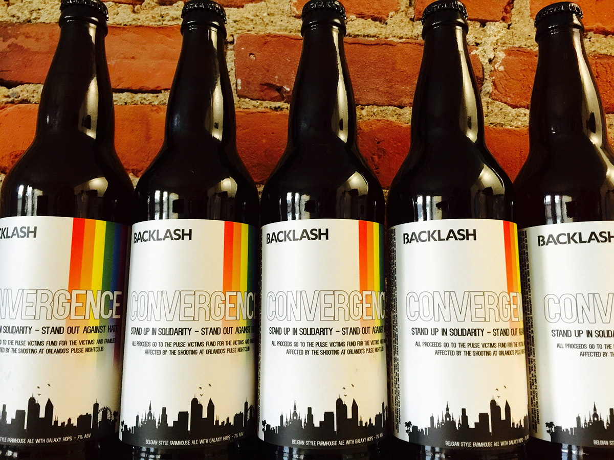 Special edition Convergence, by Backlash Beer Company