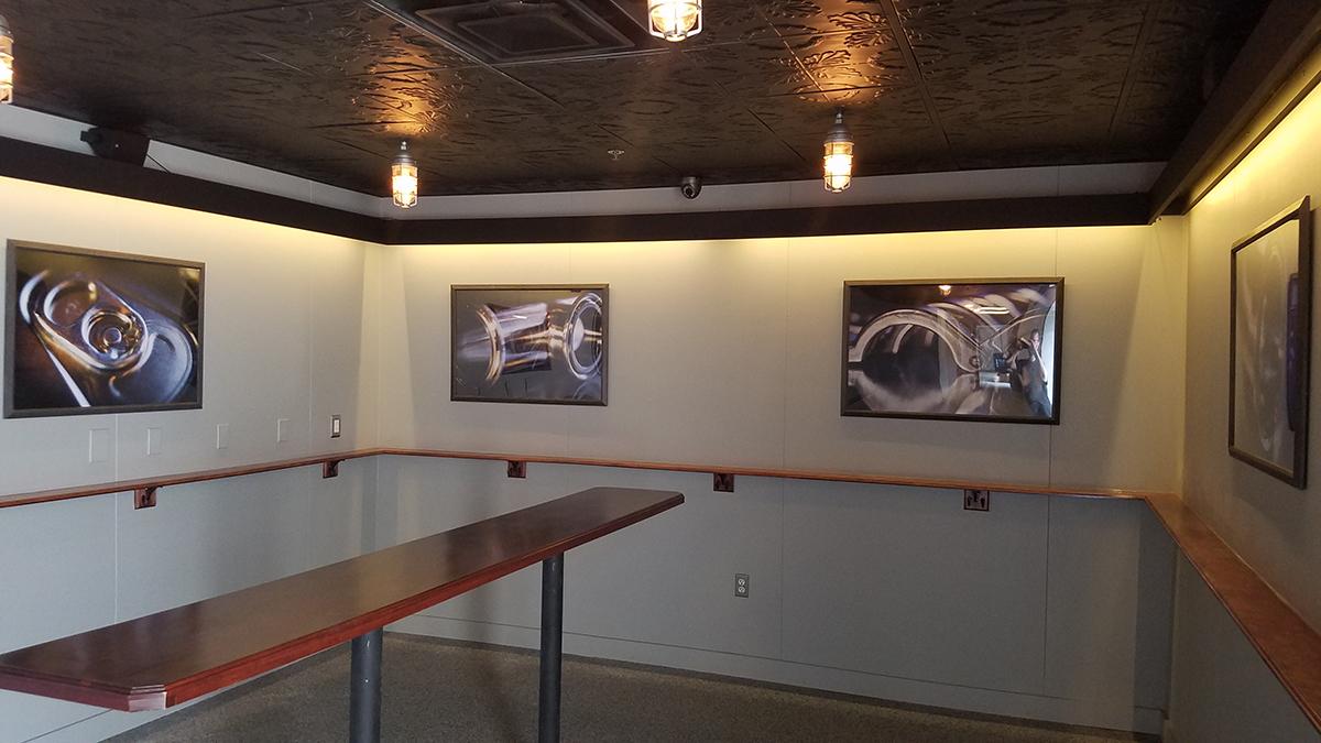 Exhibit 'A' Brewing Company tasting room