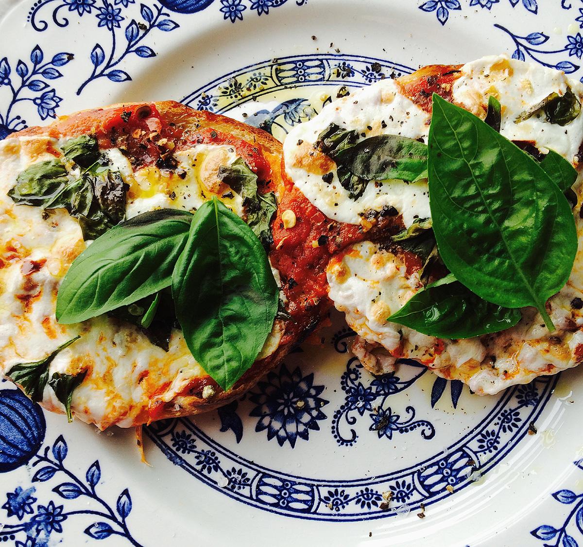 Exodus Pizza Bagel. / Photo provided