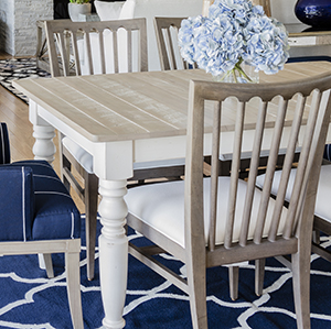 Ethan Allen U2013 Miller Rustic Dining Room Table #336324, Handcrafted In Our  American Workshops. You Canu0027t Miss The Craftsmanship Here.