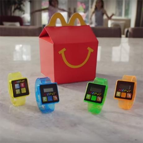 McDonald's Step-it