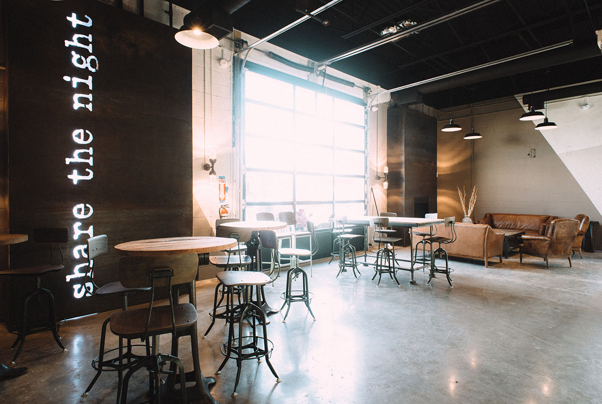 Night Shift Annex lounge area
