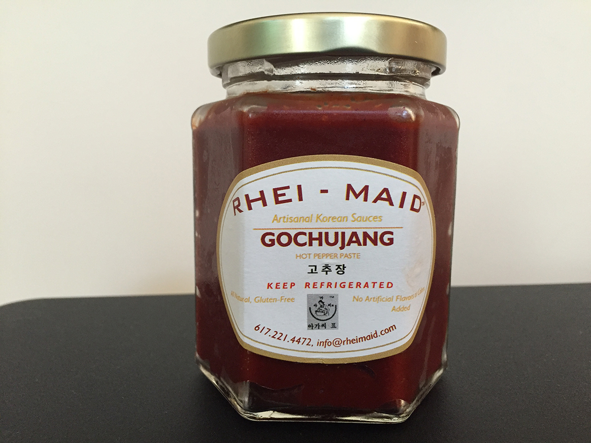 Rhei-Maid gochujang, a secret ingredient of many Boston and New York City chefs, is coming to Foodie's Market in the South End. / Photo provided
