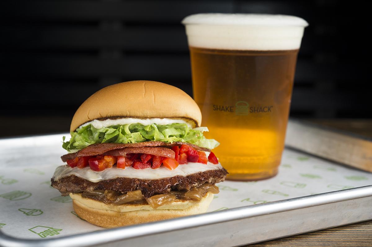 Shake Shack's Coppa Burger