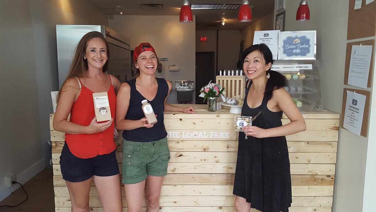 The Local Fare Arlington cofounders