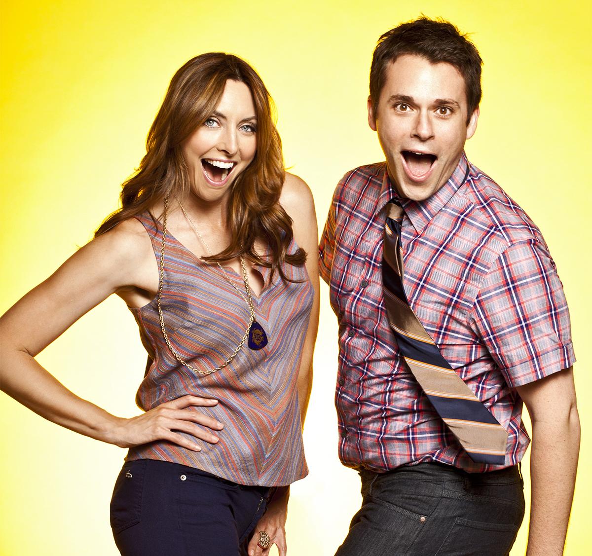 Erin Gibson and Bryan Safi