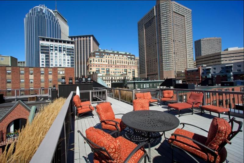 roof deck apartments boston