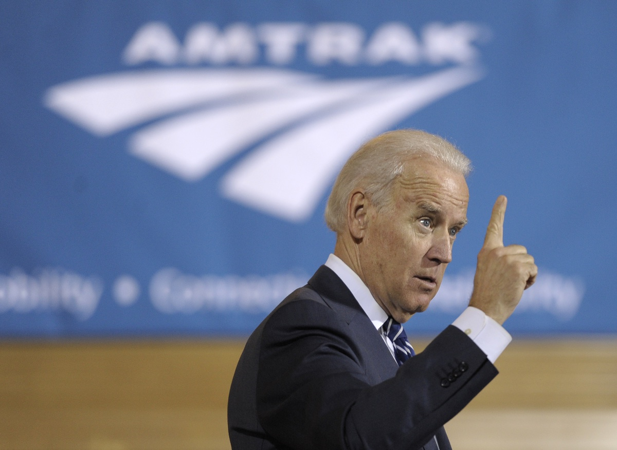 Biden announces new funding for Amtrak Northeast Corridor