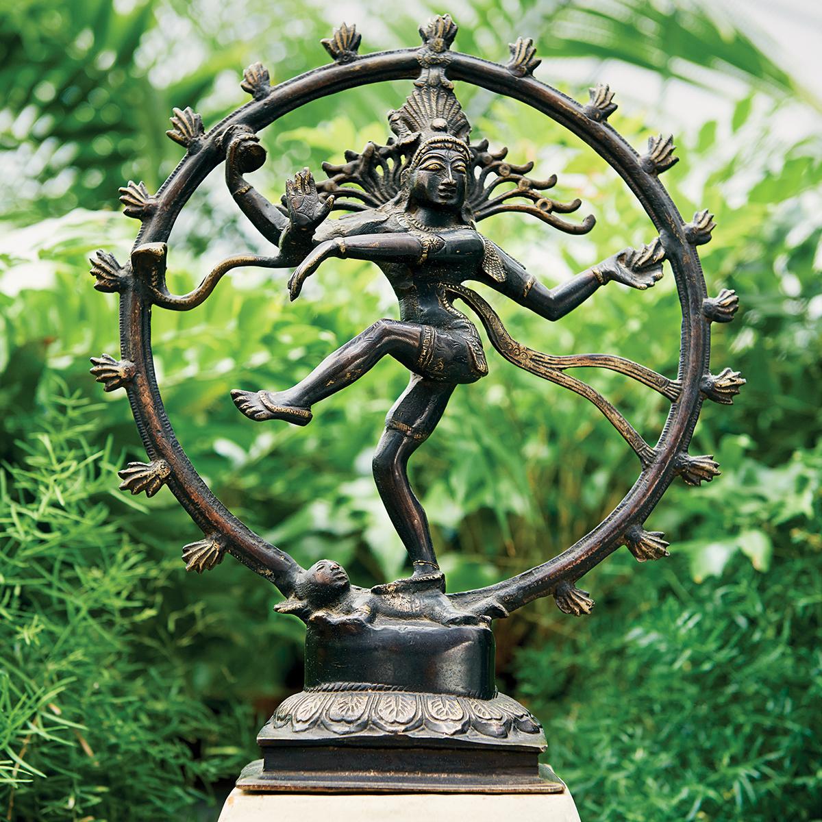 christina nielsen Shiva Nataraja bronze sculpture