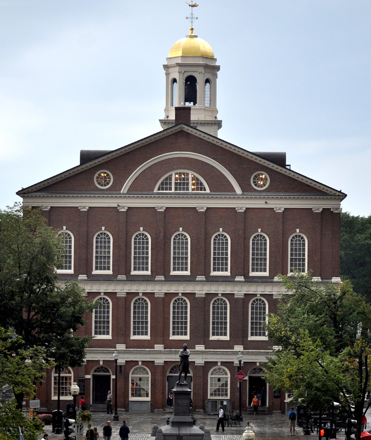 Faneuil Hall photo via Wikimedia/Creative Commons
