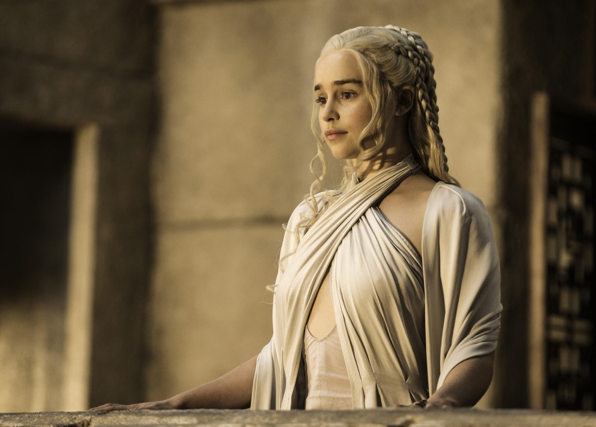 Emilia Clarke in 'Game of Thrones'