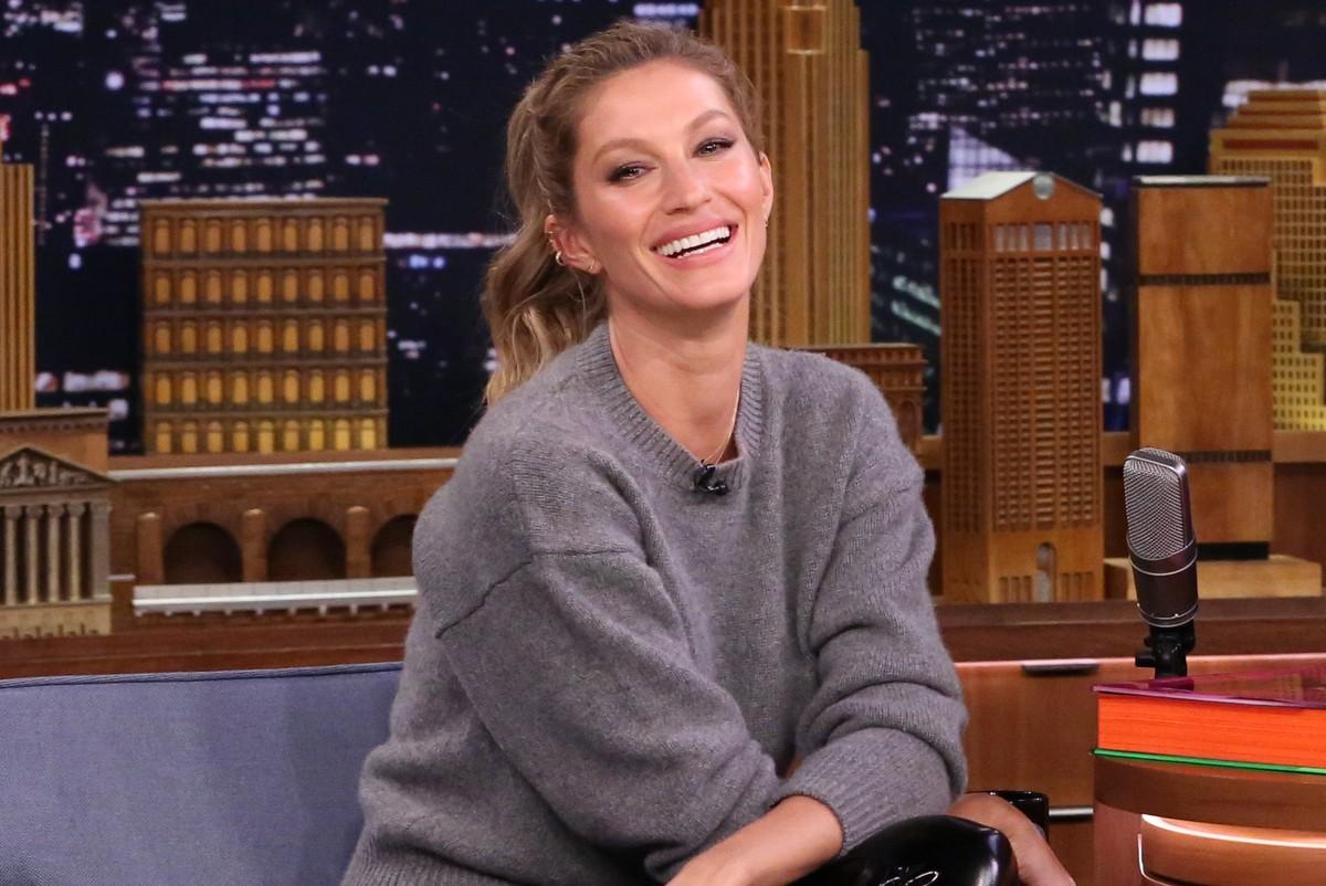 Gisele Bündchen on the 'Tonight Show Starring Jimmy Fallon'