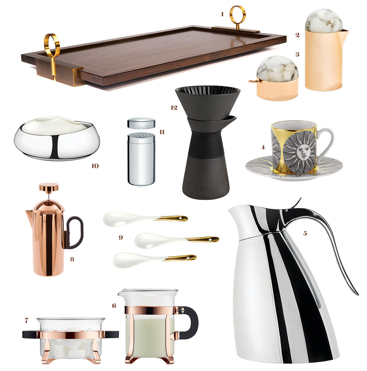 high-end coffee accessories