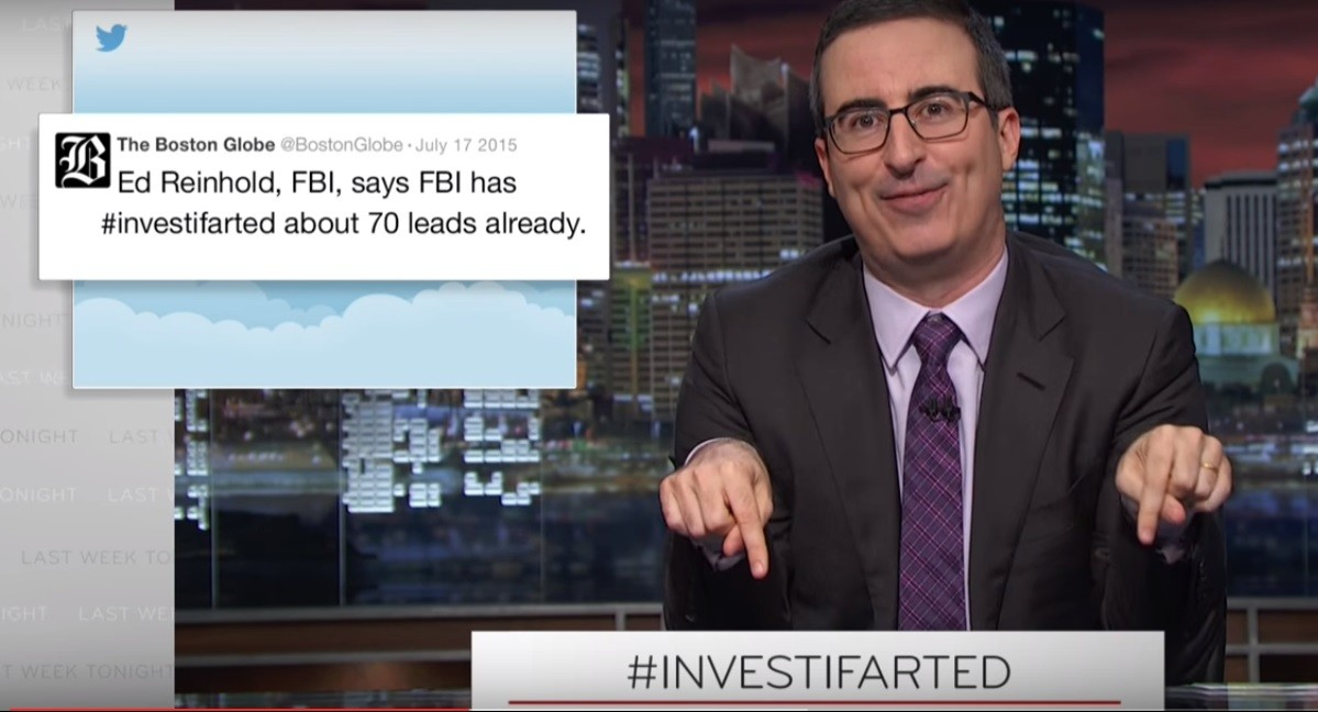 John Oliver examines journalism's many problems: the blame is on us