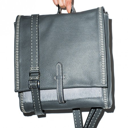 leather cowhide backpack meichi peng sq