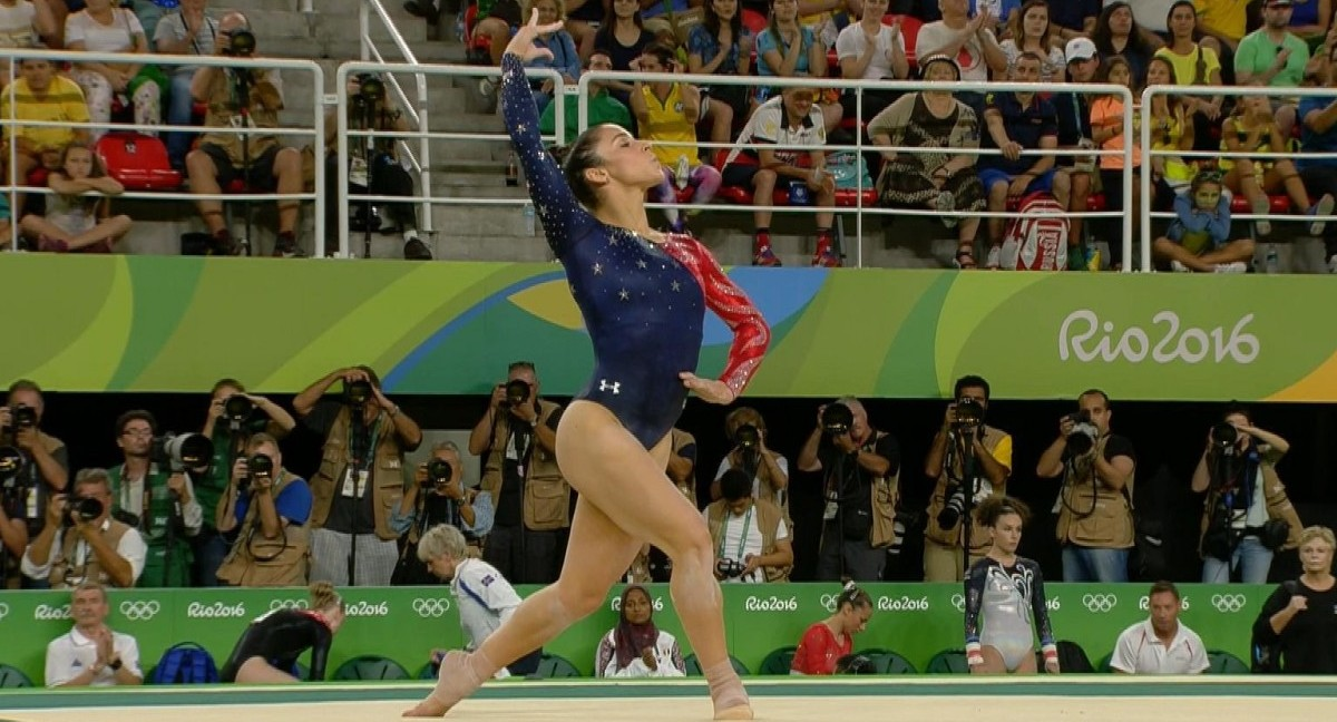 Watch Aly Raisman S Flawless Floor Exercise At Rio Olympics