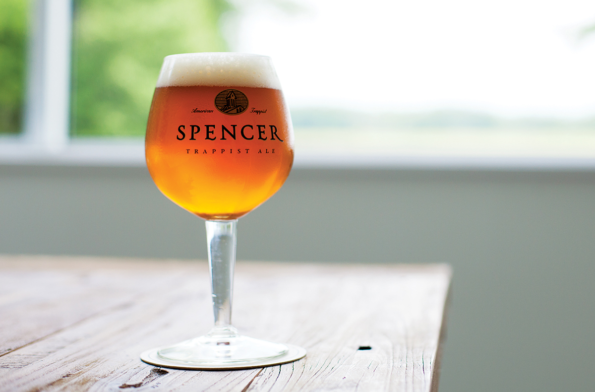 Spencer Trappist Ale. / Photo bt Pat Piasecki for Trappist Tale.