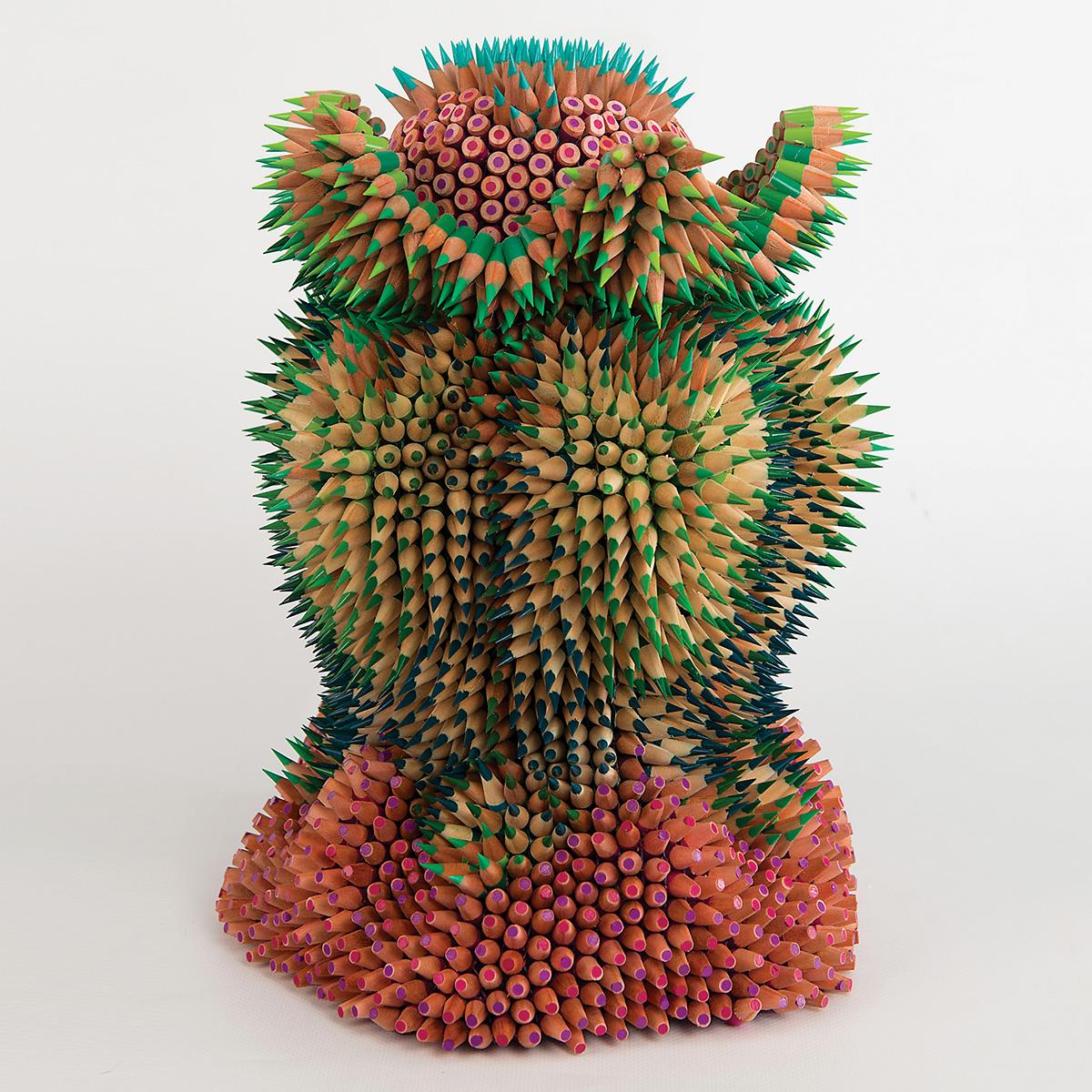 strange flower jennifer maestre colored pencil art
