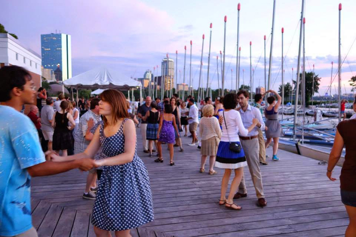 Swingin' on the Charles / Photo by Swingin' on the Charles