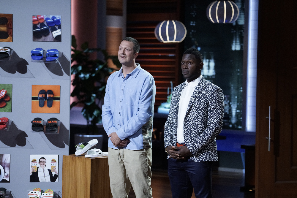 Justin Kittredge and Antonio Brown on 'Shark Tank'