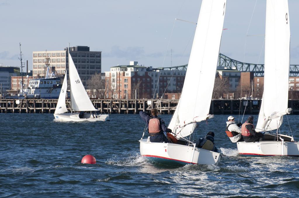 Boston Harbor Regatta. Photo by energyandintensity on Flickr commons.