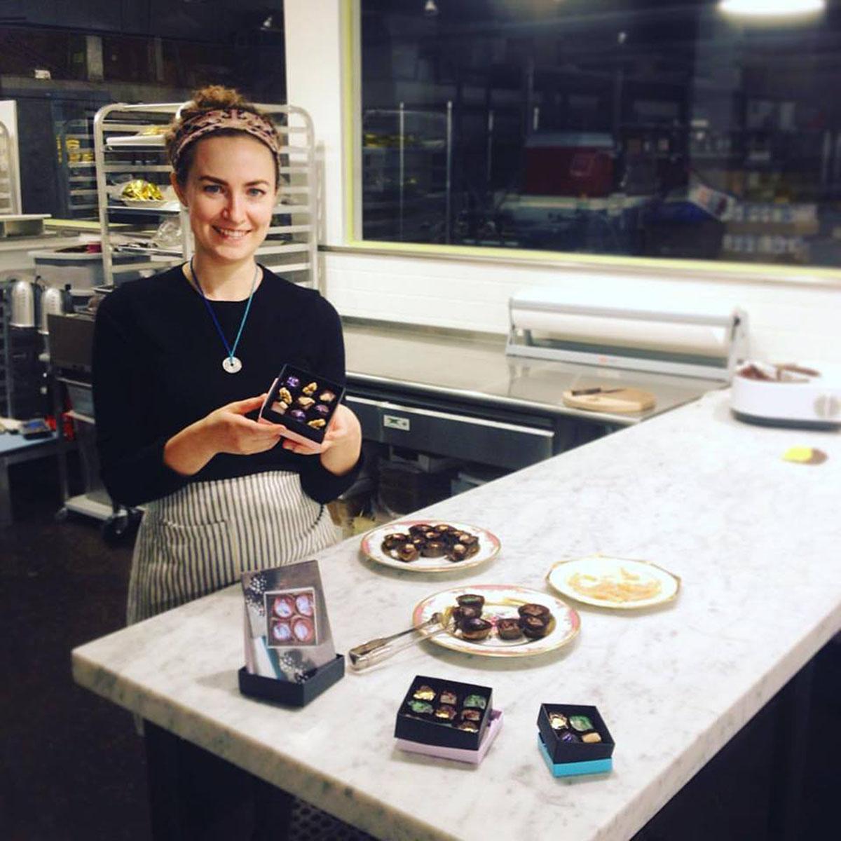 Chocolatier Alexandra Whisnant