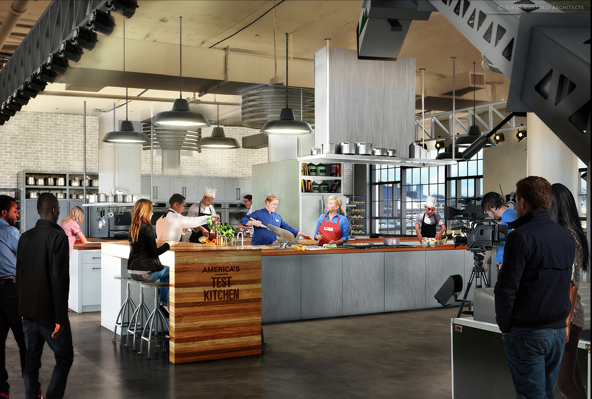 Test Kitchen america's test kitchen is moving to the seaport - boston magazine