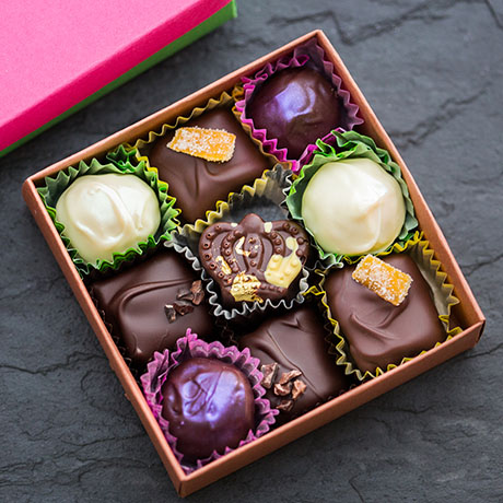 Gate comme des Filles chocolates square