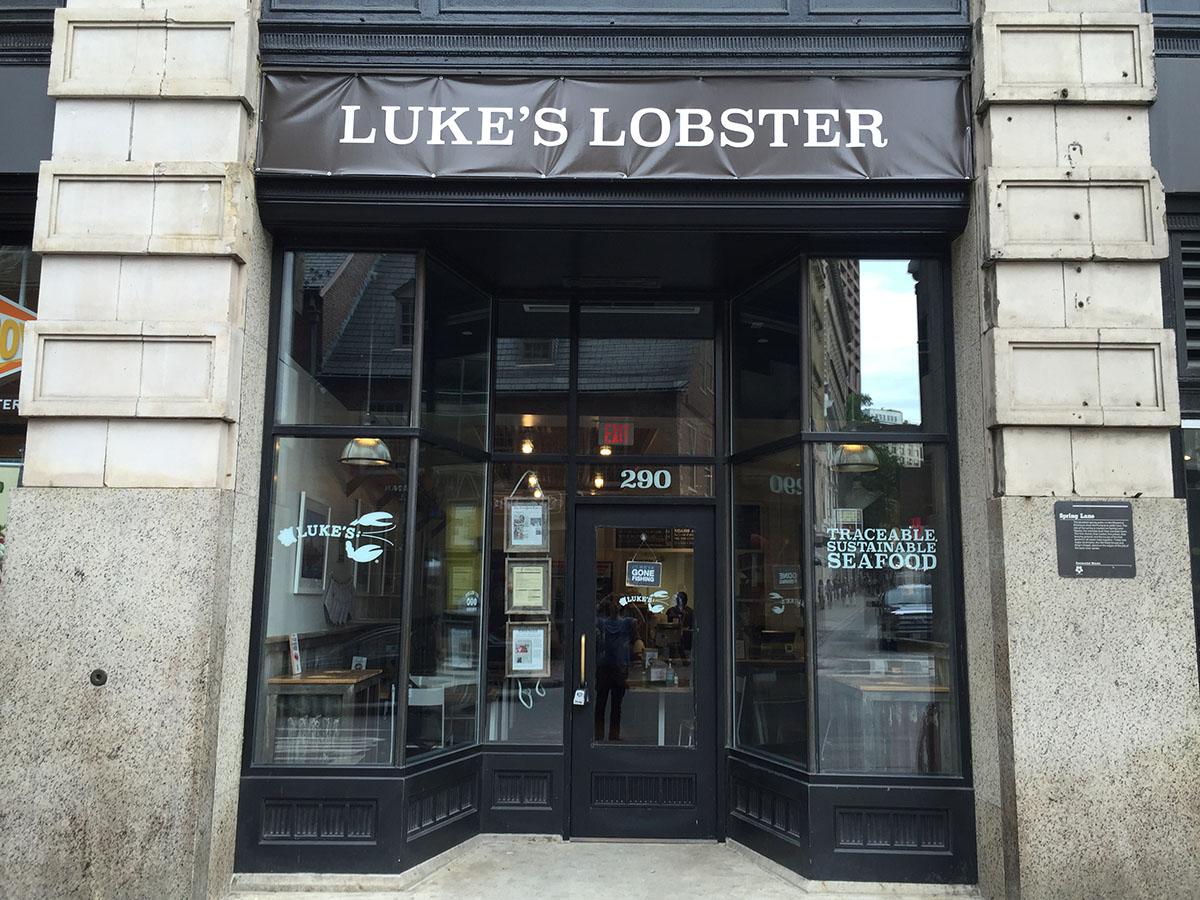 Luke's Lobster in Downtown Crossing