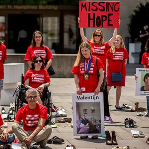 Millions Missing demonstration in Washington, DC.  (Photo by Mary F. Calvert)
