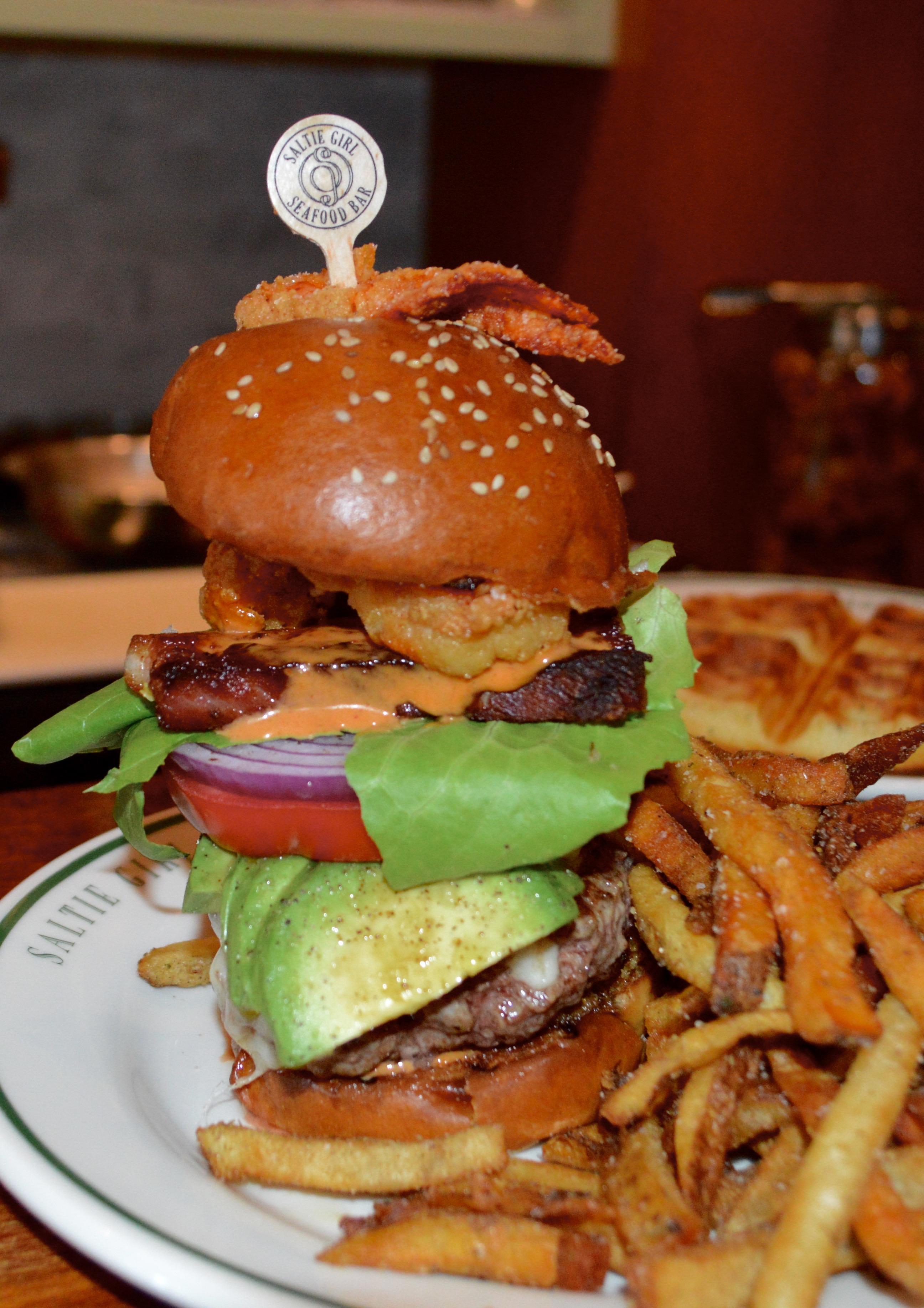 Saltie Girl Burger