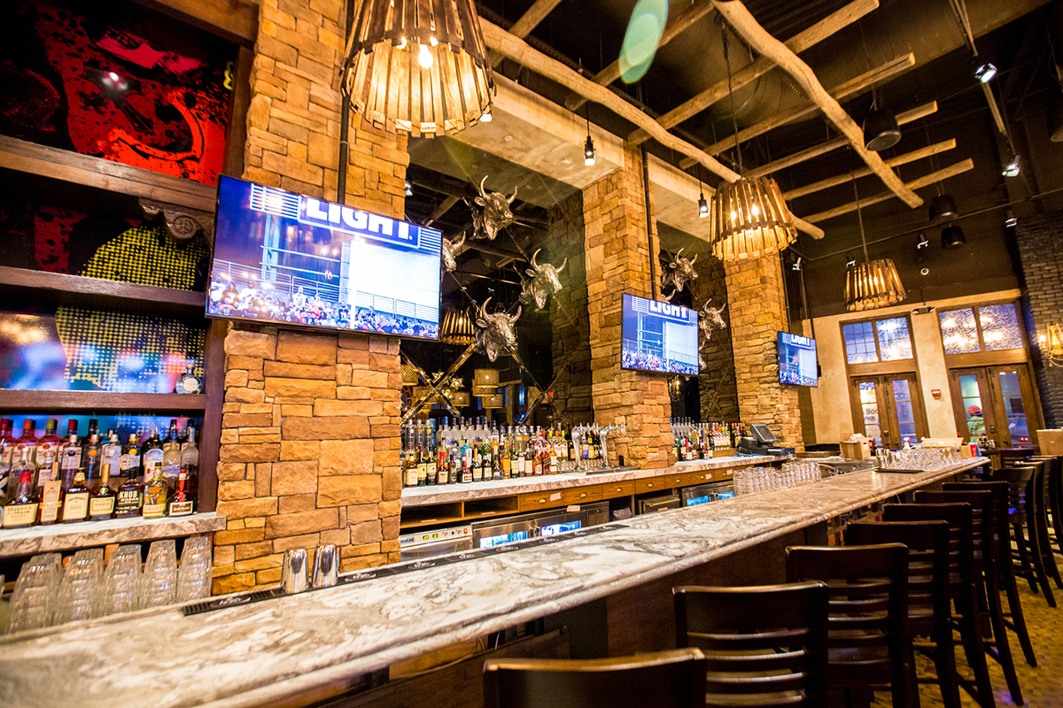 Scorpion Bar Is Now Open At Patriot Place