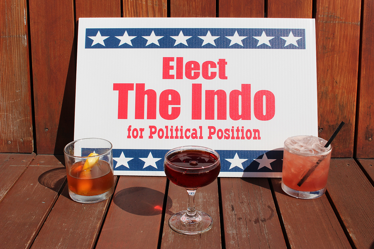 Debate cocktails at the Independent. / Photo provided