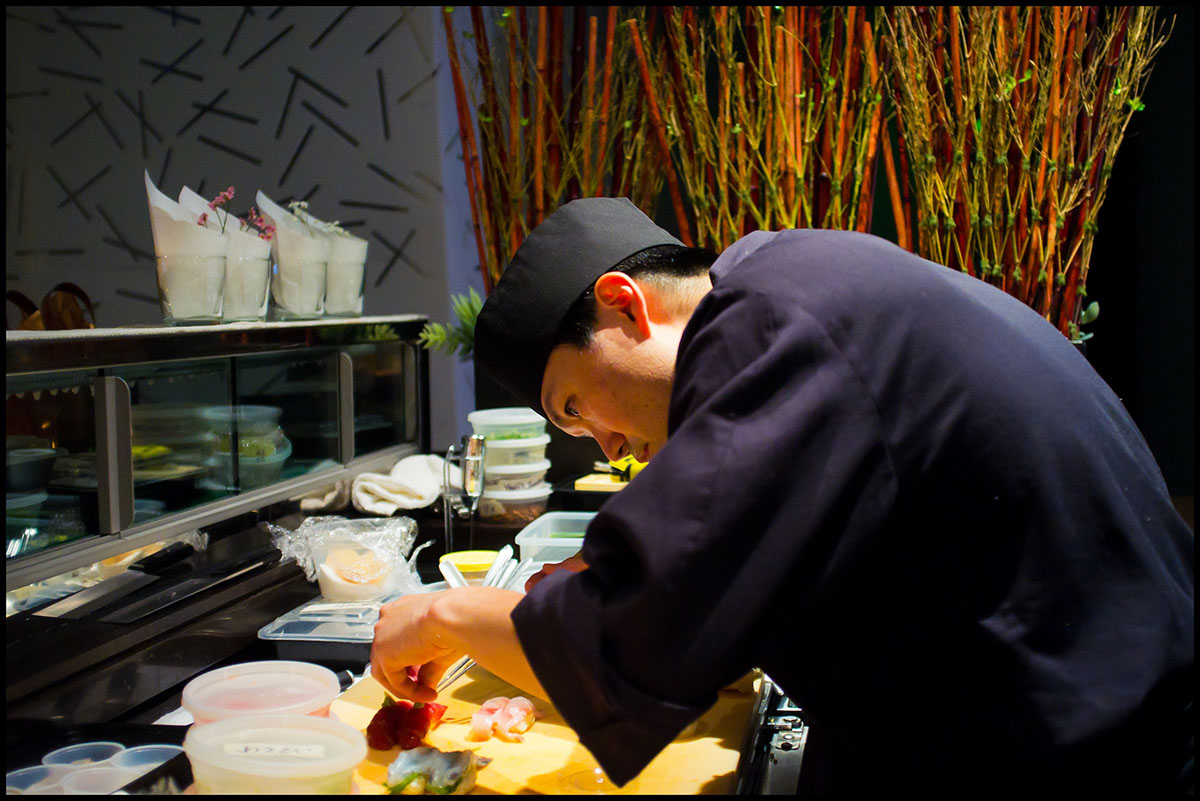 Chef Youji Iwakura at Basho. / Photo provided