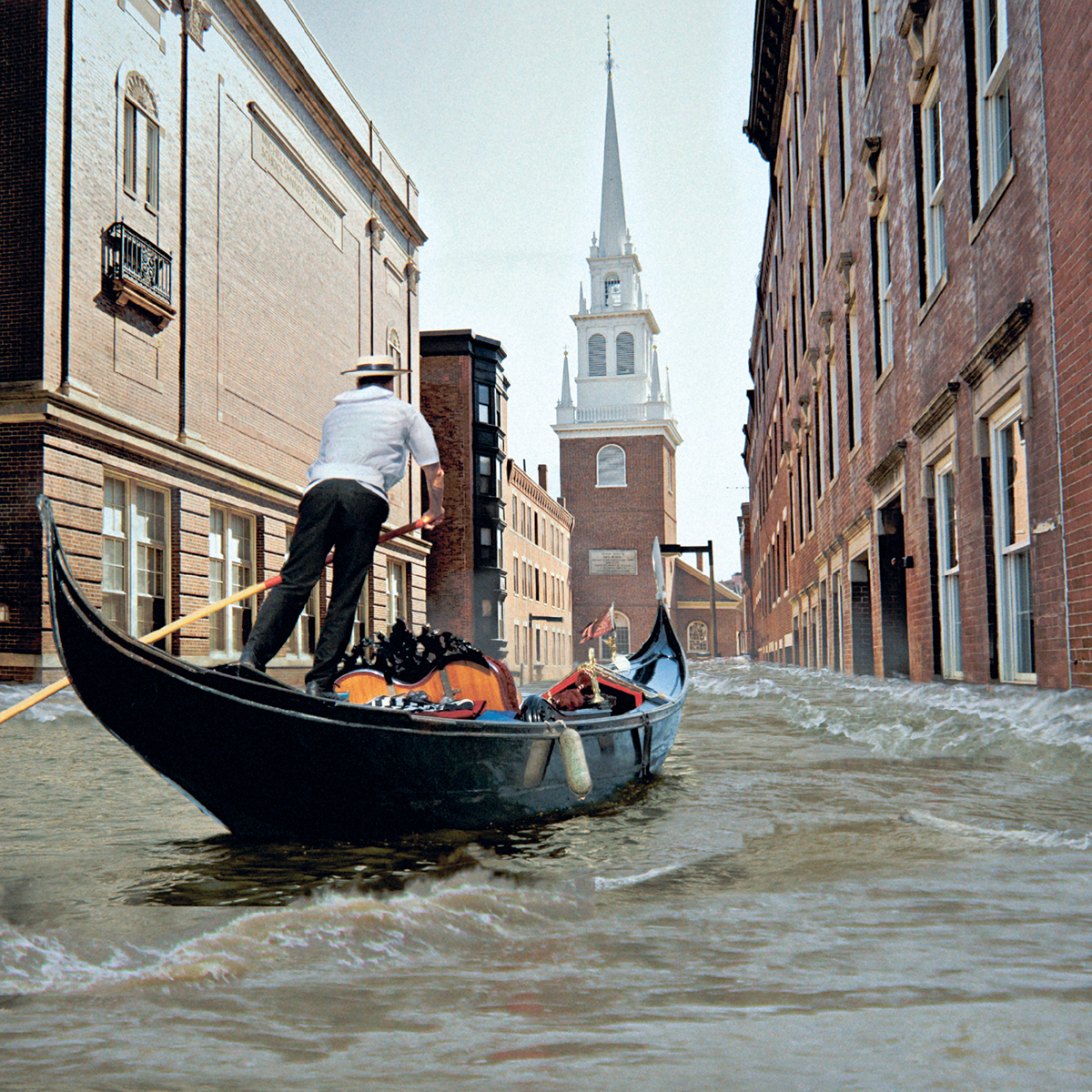 boston storm flooding venice