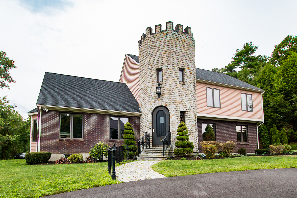On The Market A Rosy Castle In Braintree Boston Magazine