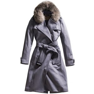 burberry tempsford cashmere wrap trench sq