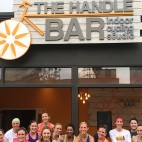 the handle bar