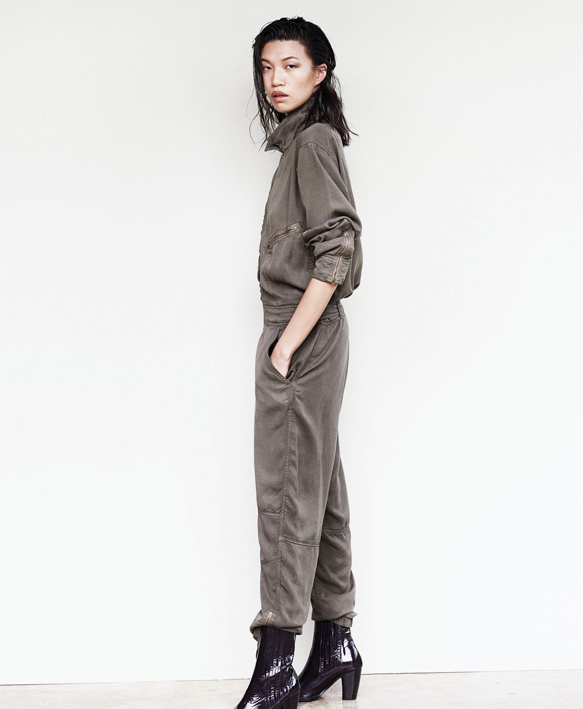 paola airforce jump suit