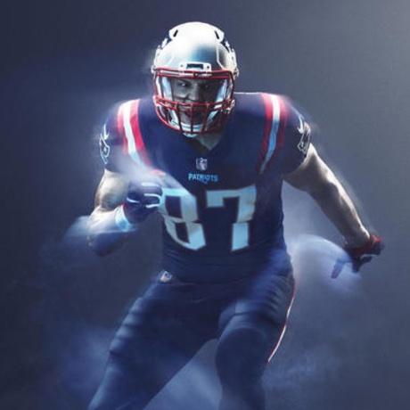 Patriots Unveil All-Blue Color Rush Uniforms