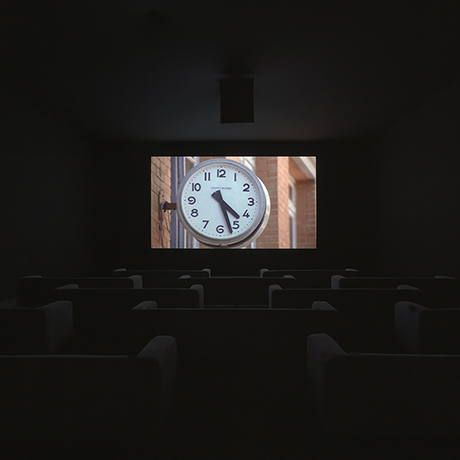 The Clock Christian Marclay (American, born in 1955) 2010 Single channel video (color, sound) 16:9 aspect ratio *Museum of Fine Arts, Boston.  Edward Linde Fund—Jointly owned by the Museum of Fine Arts, Boston and the National  Gallery of Canada *© the artist Photo: Todd‑White Art Photography Courtesy the Artist, White Cube, London and Paula Cooper Gallery, New York *© the artist. Photo: Todd‑White Art Photography. Courtesy White Cube, London and Paula Cooper Gallery, New York. *Courtesy Museum of Fine Arts, Boston