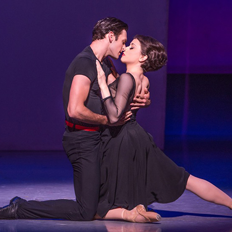 Garen Scribner and Sara Esty. Photo by Matthew Murphy.
