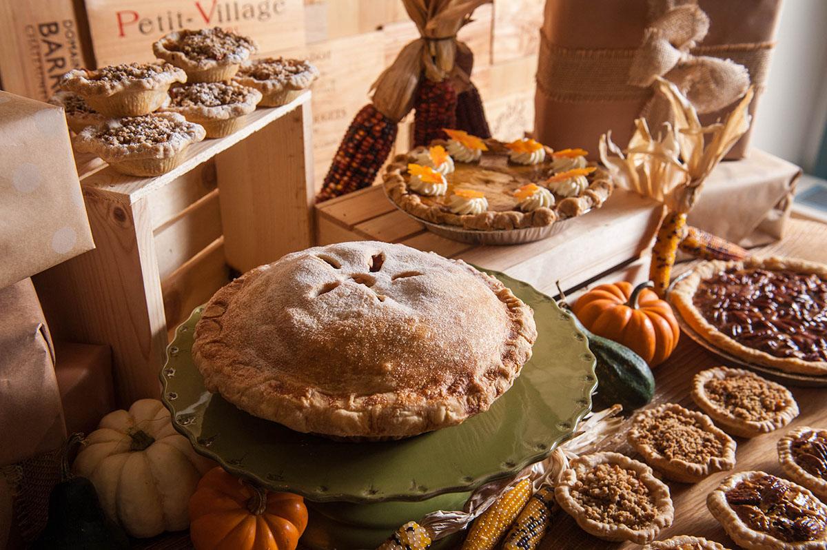Thanksgiving pies at Bar Boulud