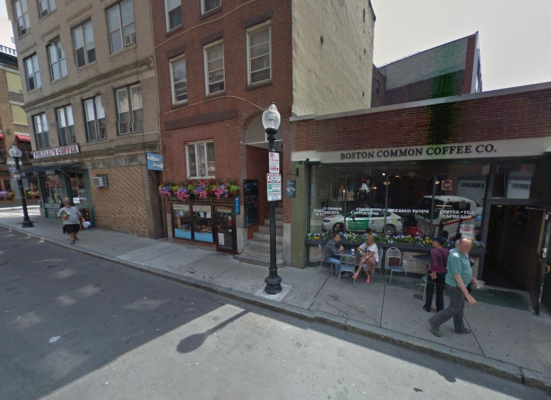 Boston Common Coffee Co. on Salem Street