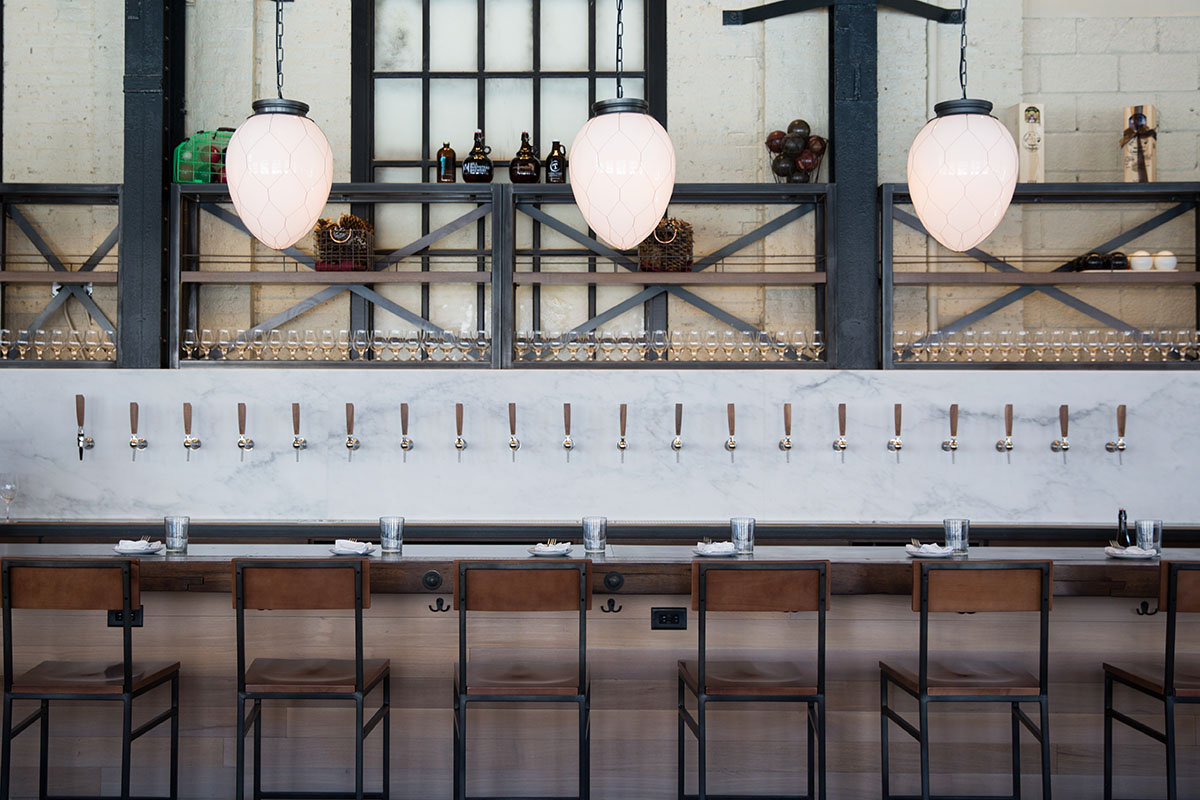 The bar at Branch Line