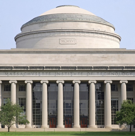 Cambridge, Massachusetts, USA - July 9, 2008:  The Great Dome of the Massachusetts Institute of Technology is a symbol of excellence in higher education.