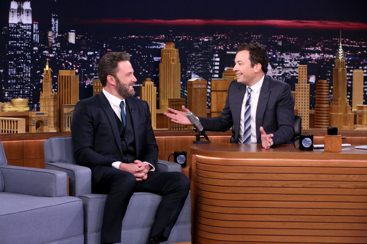 Ben Affleck and Jimmy Fallon
