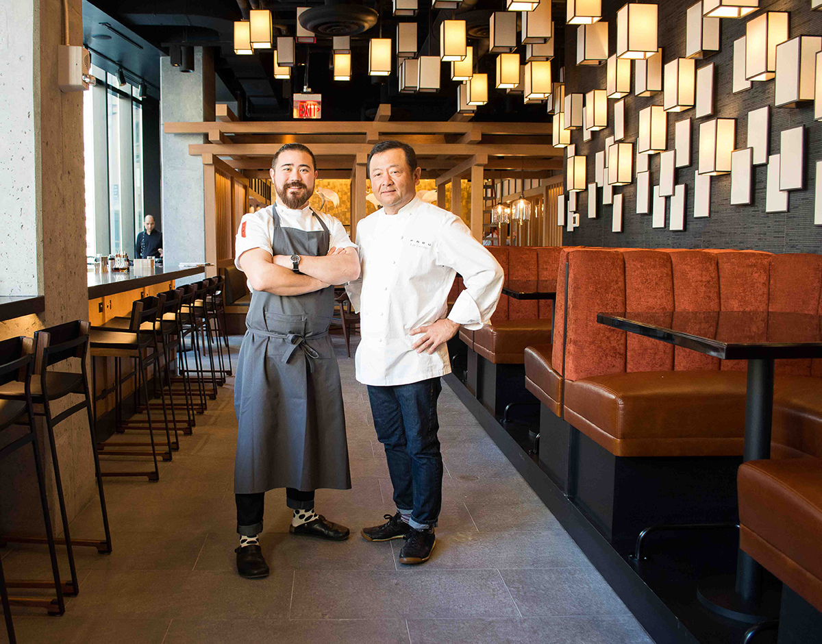 Pabu Boston chef Ben Stiegers Ken Tominaga