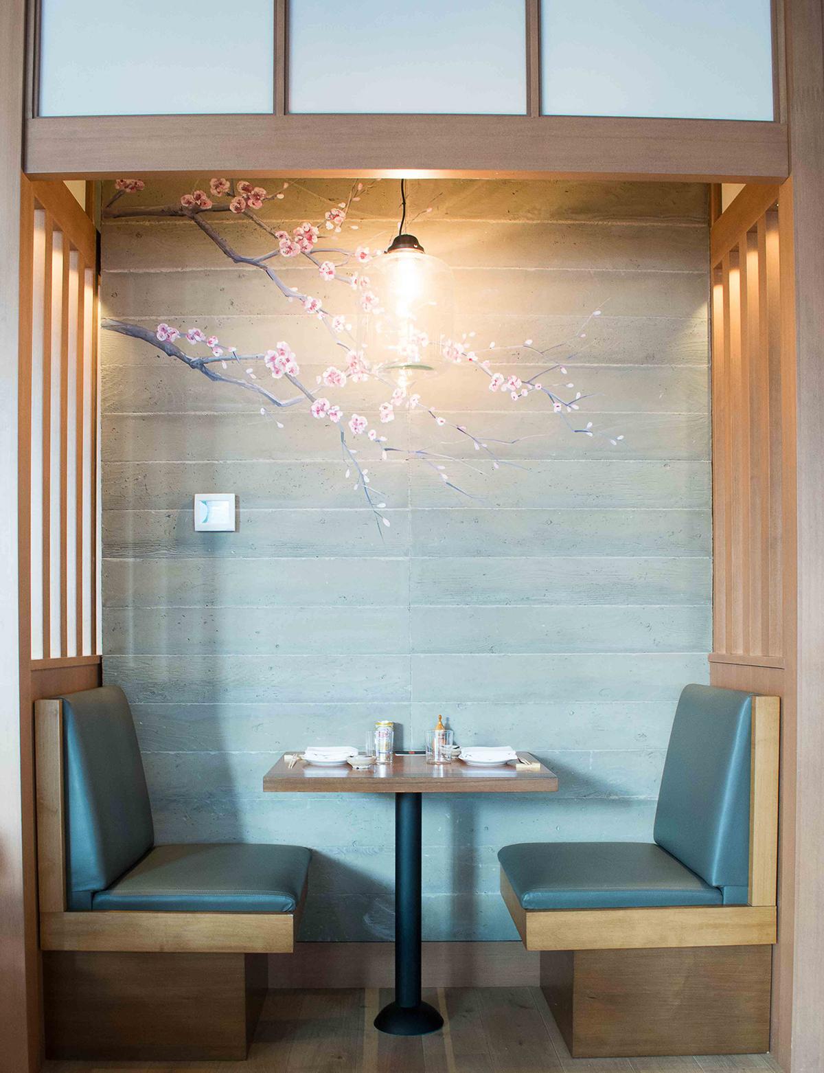 Pabu dining booth
