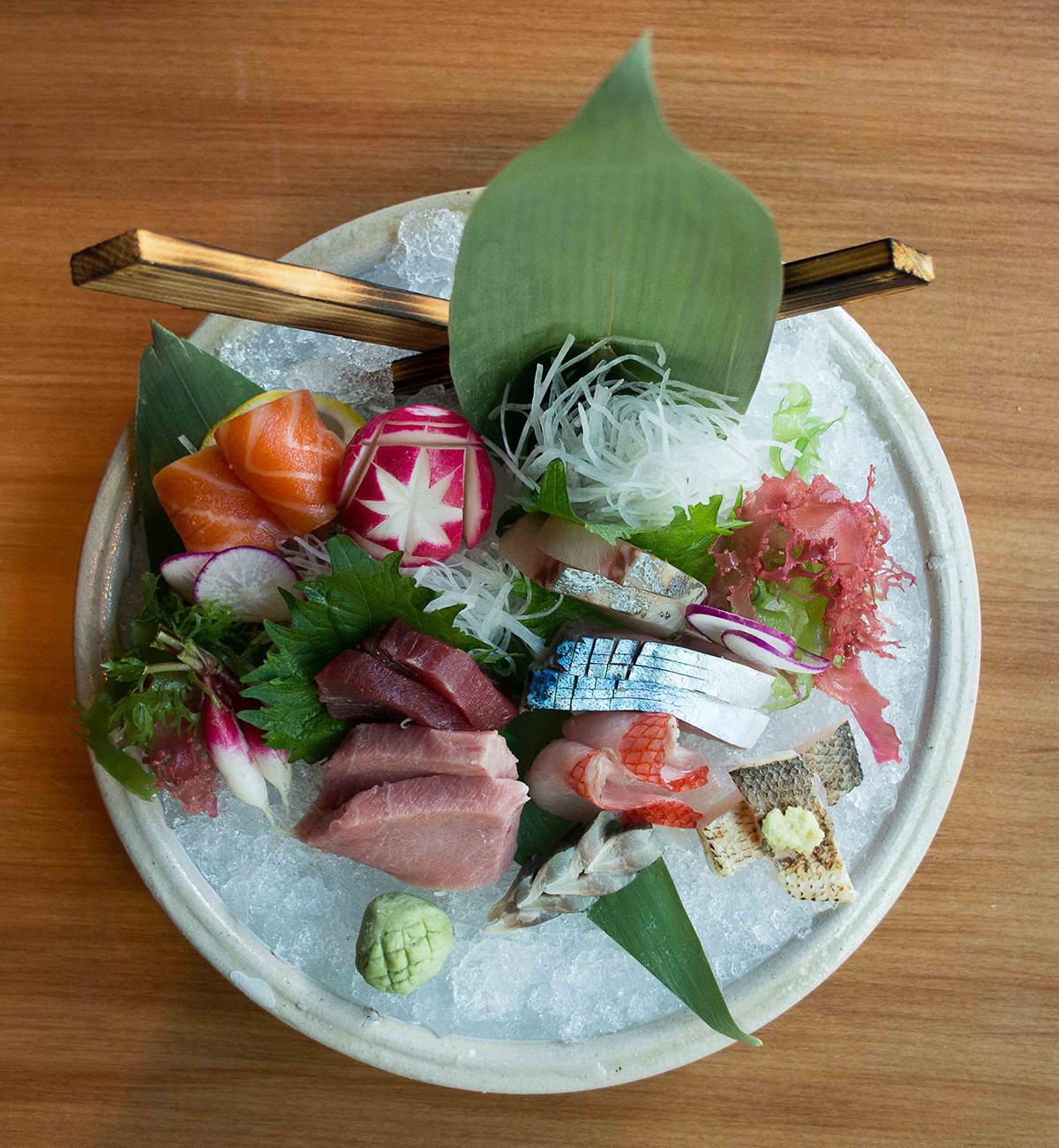 Pabu sashimi